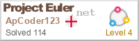 An image of the Project Euler Logo