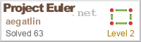 Project Euler Flair