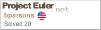 Project Euler Status