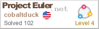 Project Euler Scorecard