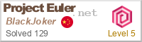 My Project Euler Profile