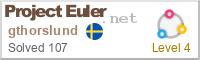 Project Euler score