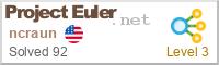 ncraun Project Euler statistics