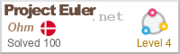 Project Euler Award