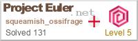 Project Euler progress stats