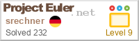 Mein Project  Euler Banner