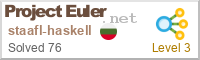 Project Euler - Haskell