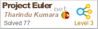 profile for Tharindu Kumara on Project Euler