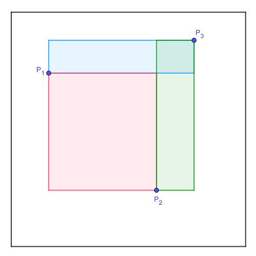 3 случайных прямоугольника